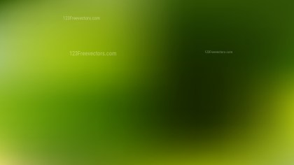 Dark Green Blur Background Graphic