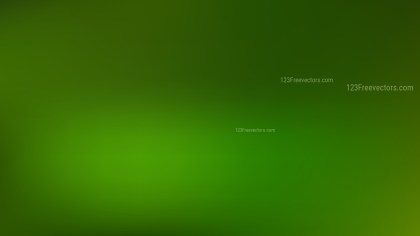 Dark Green PPT Background Illustration