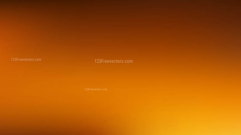 Dark Orange Blurry Background
