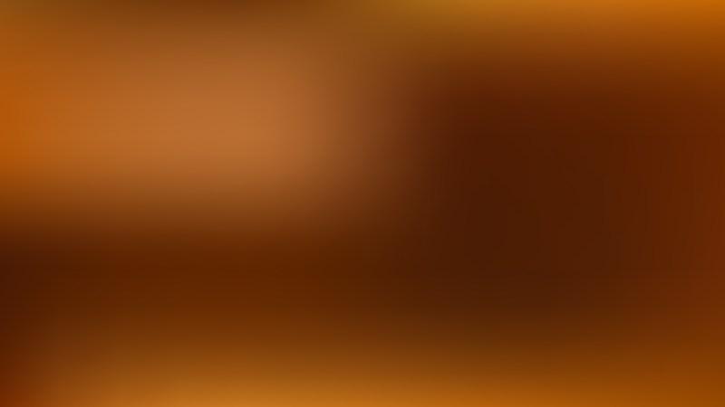 Dark Orange Blur Background