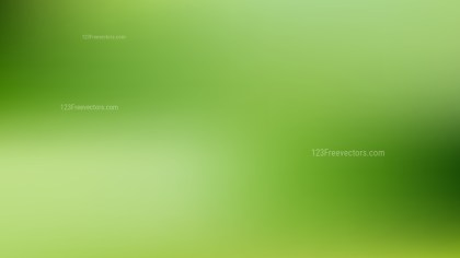Green Blur Background Design