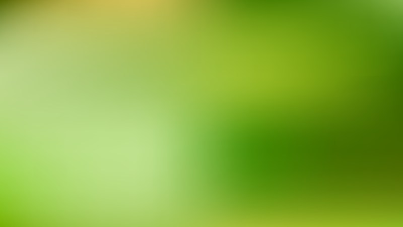 Green Blurry Background Image