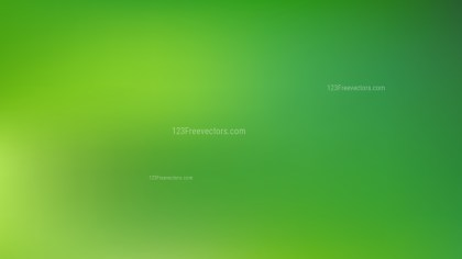 Green PPT Background Vector Image