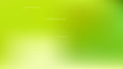 Green Gaussian Blur Background