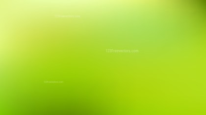 Green Gaussian Blur Background Illustration
