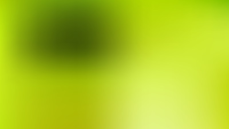 Green Blur Photo Wallpaper Design