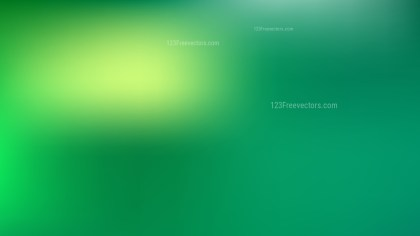 Green Blurred Background Illustration