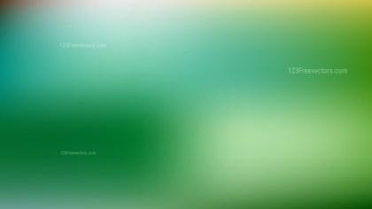 Green Blur Background Design