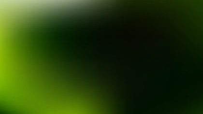 Green and Black PowerPoint Background Design