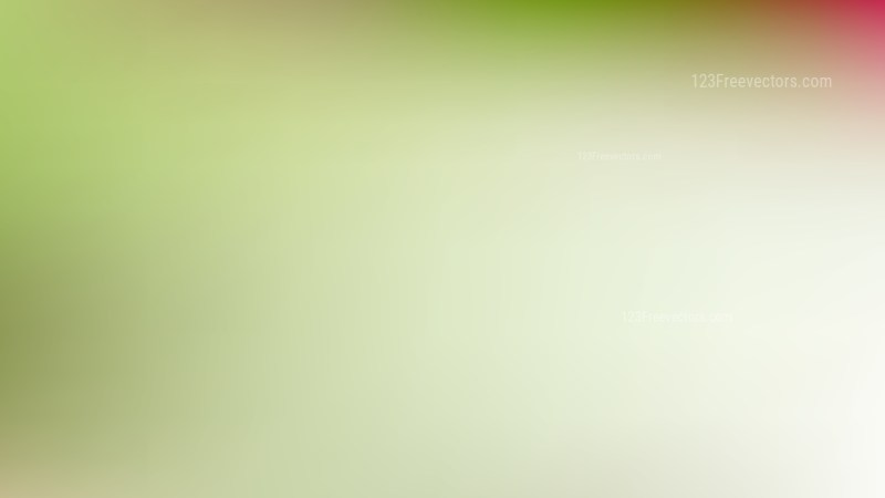 Green and White Blur Background