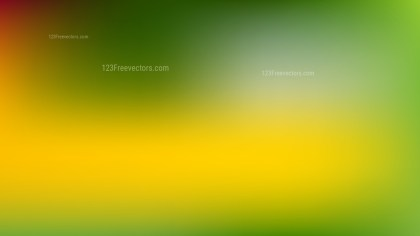 Green and Yellow PPT Background