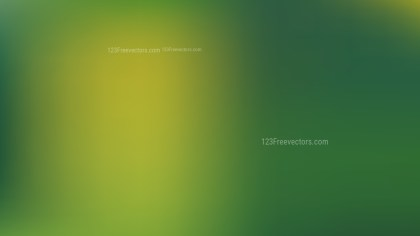 Green and Yellow Blur Background Graphic