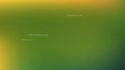 Green and Yellow Blurry Background Illustration