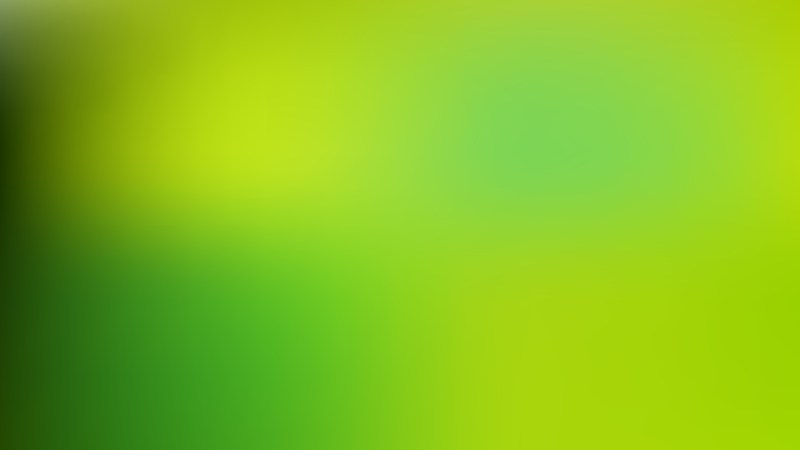 Green and Yellow Blurred Background