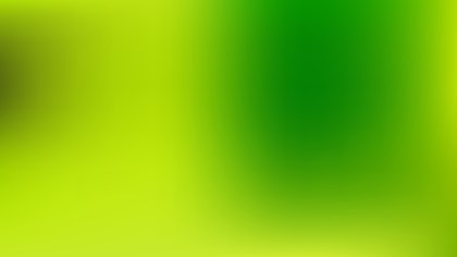 Green and Yellow Blur Background