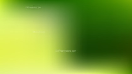 Green and Yellow Presentation Background