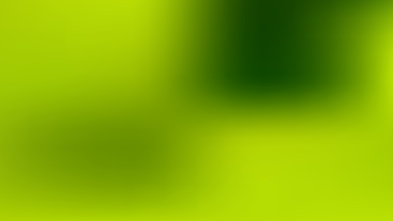 Green and Yellow Blurred Background Vector Illustration