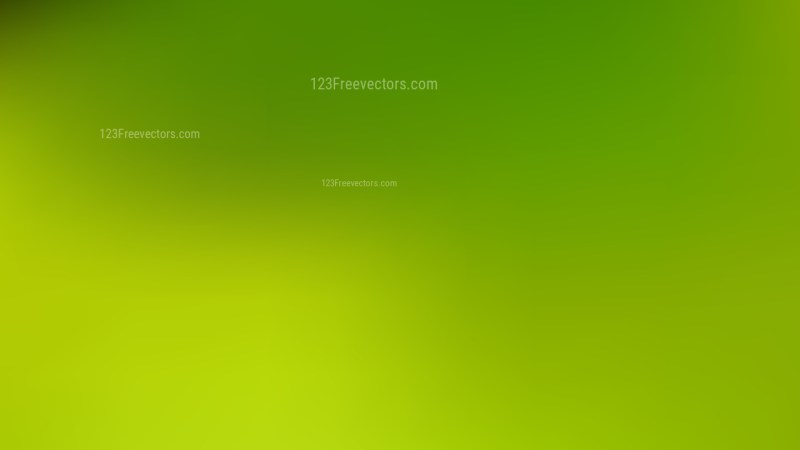 Green and Yellow Blur Background Vector