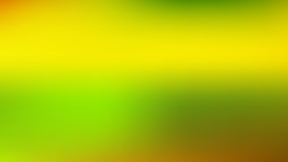 Green and Yellow Blurry Background Vector Art