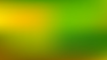 Green and Yellow PowerPoint Background Graphic