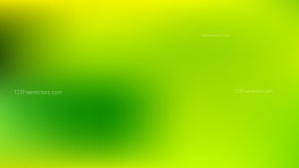 Green and Yellow Business PowerPoint Background