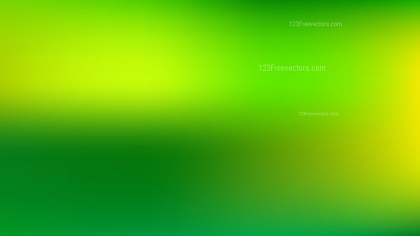 Green and Yellow PowerPoint Presentation Background