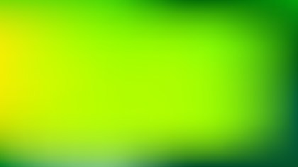 Green and Yellow PowerPoint Slide Background