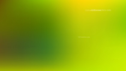 Green and Yellow Professional PowerPoint Background