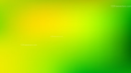 Green and Yellow Gaussian Blur Background