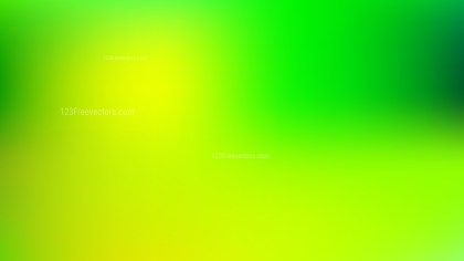 Green and Yellow Business PowerPoint Background Vector