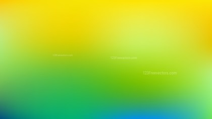 Green and Yellow Business PPT Background Vector Art