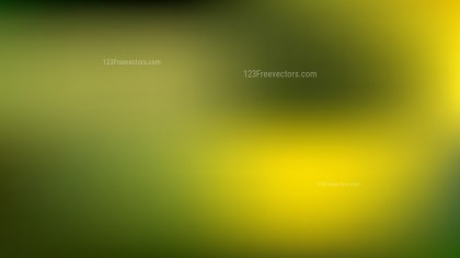 Green and Yellow PowerPoint Slide Background Vector Image