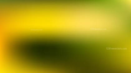 Green and Yellow Professional PowerPoint Background Illustrator