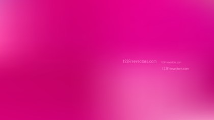 Hot Pink Photo Blurred Background Vector Art