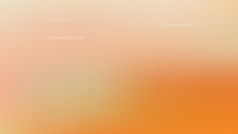 Light Orange PowerPoint Background