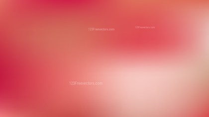 Light Red Blur Background