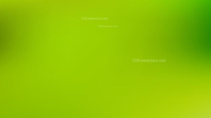 Lime Green PowerPoint Slide Background Vector Illustration