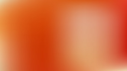 Orange Blur Photo Wallpaper Graphic