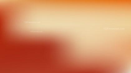 Orange Presentation Background