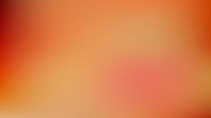 Orange Blurred Background Illustration