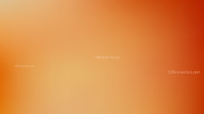 Orange Blur Background Design