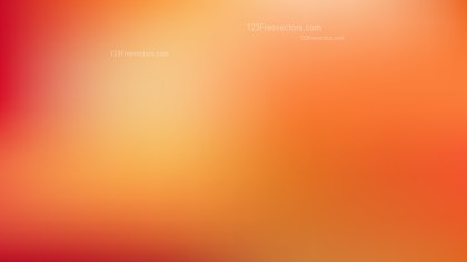 Orange PPT Background Vector Image