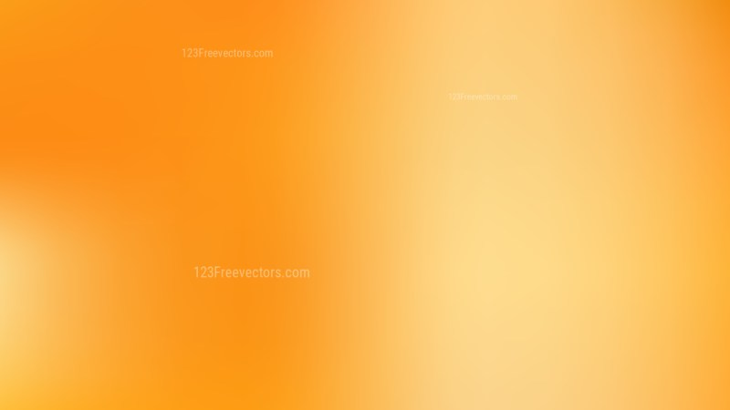 Orange PPT Background