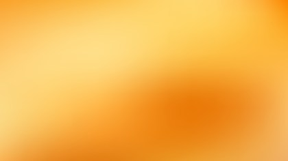 Orange Blurry Background Illustration