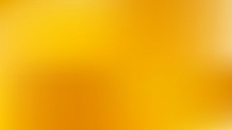 Orange Blurred Background Vector Illustration