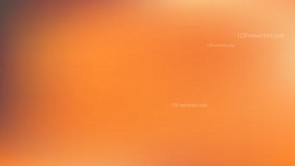 Orange PPT Background Illustration