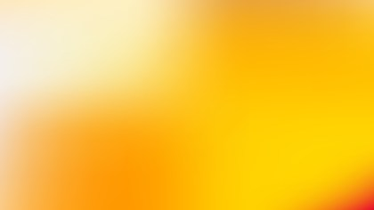 Orange Blur Photo Wallpaper