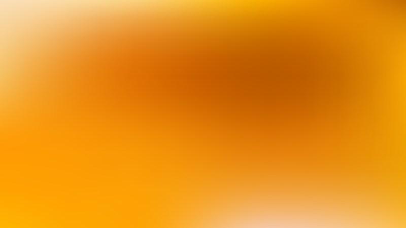 Orange Photo Blurred Background