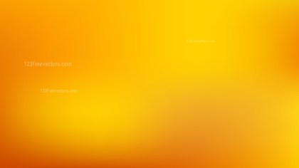 Orange Gaussian Blur Background Vector Illustration