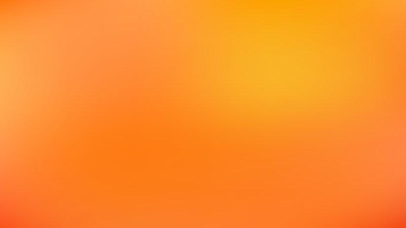 Orange Blur Background Graphic